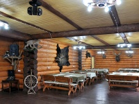 recreation center Bobrovaja hata - Banquet hall