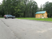 hotel Voitov most - Parking lot