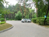 tourist complex Orsha - Parking lot